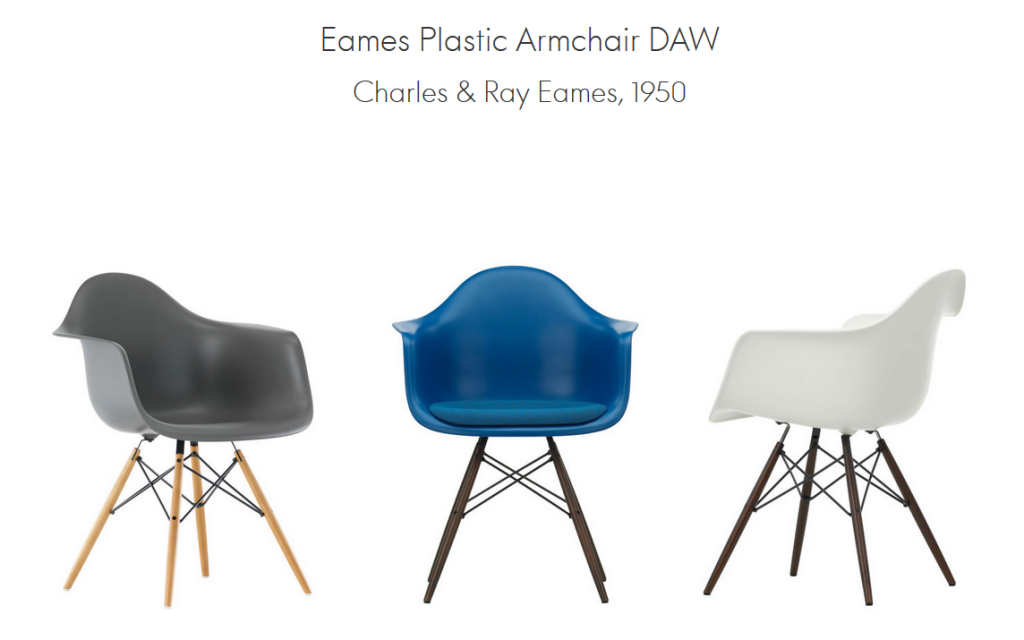 mehr als nur ein klassiker eames plastic chairs von vitra. Black Bedroom Furniture Sets. Home Design Ideas