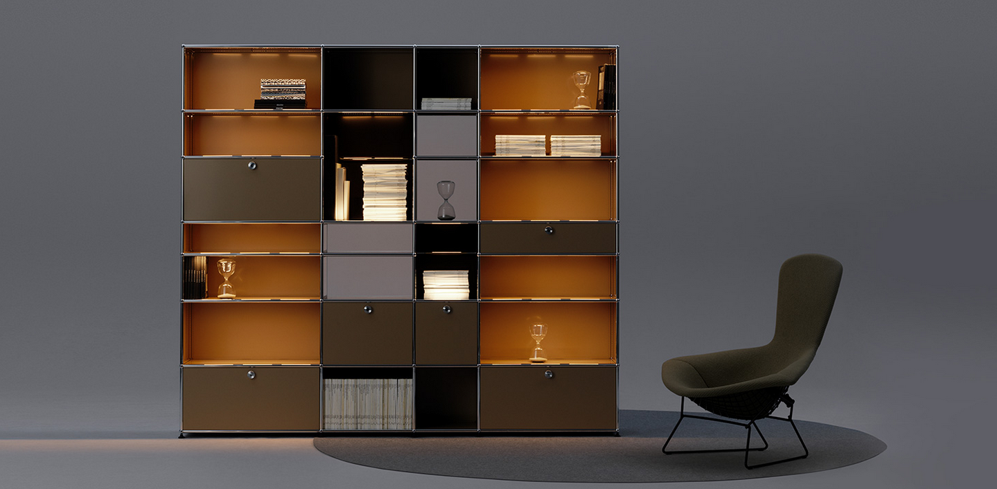 das neue usm haller e klassiker im neuen licht bruno. Black Bedroom Furniture Sets. Home Design Ideas