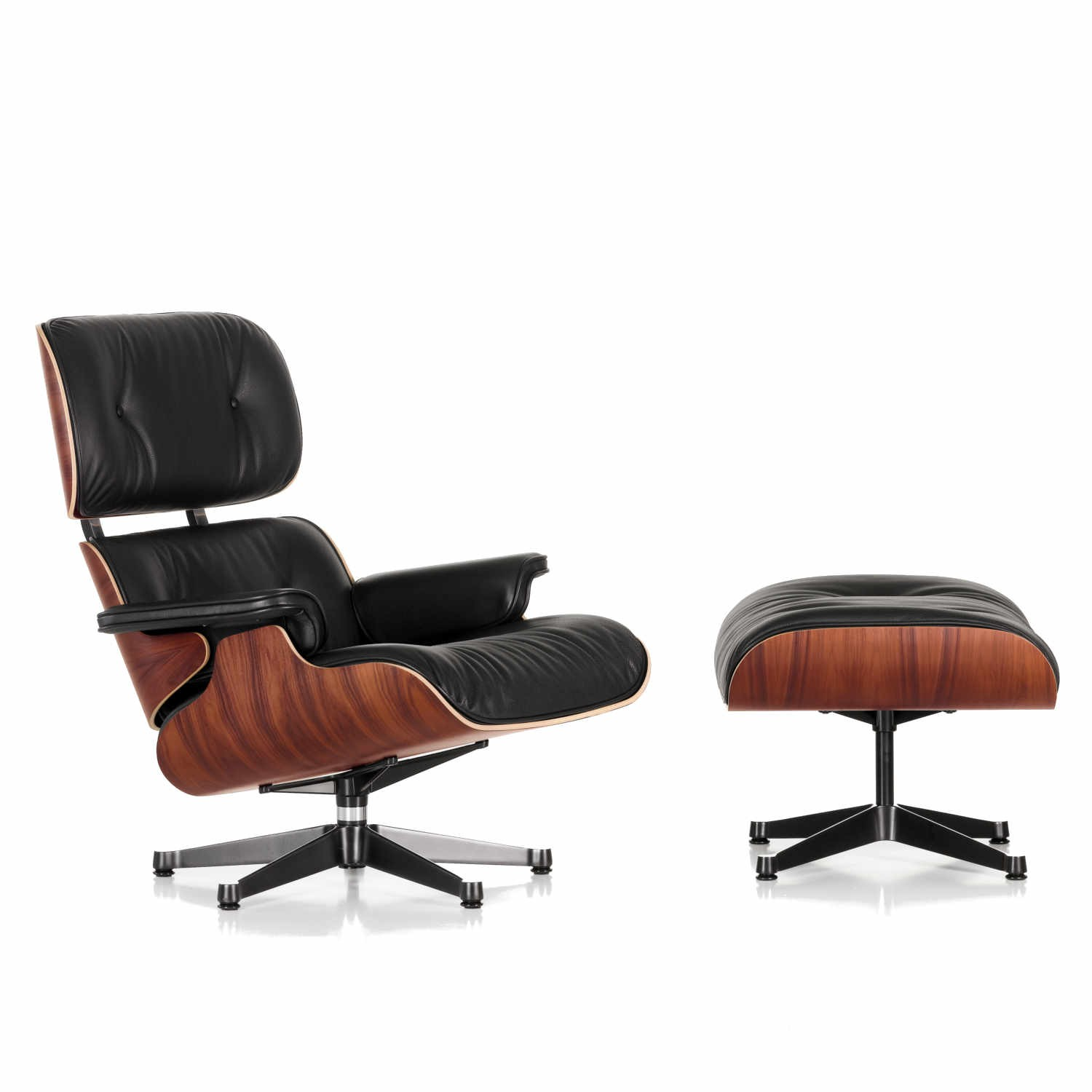 Vitra lounge chair von charles und ray eames der for Vitra design sessel