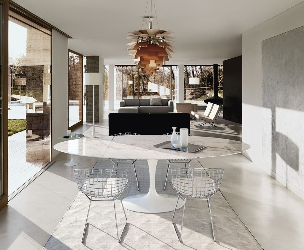 Knoll International Herstellung Der Saarinen Marmor Tische Bruno Wickart Blog