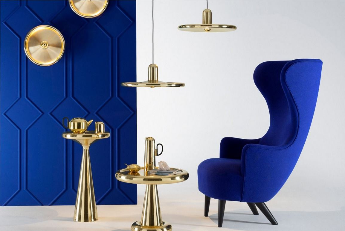 tom dixon leuchtenkollektion inspiration aus kupfer. Black Bedroom Furniture Sets. Home Design Ideas