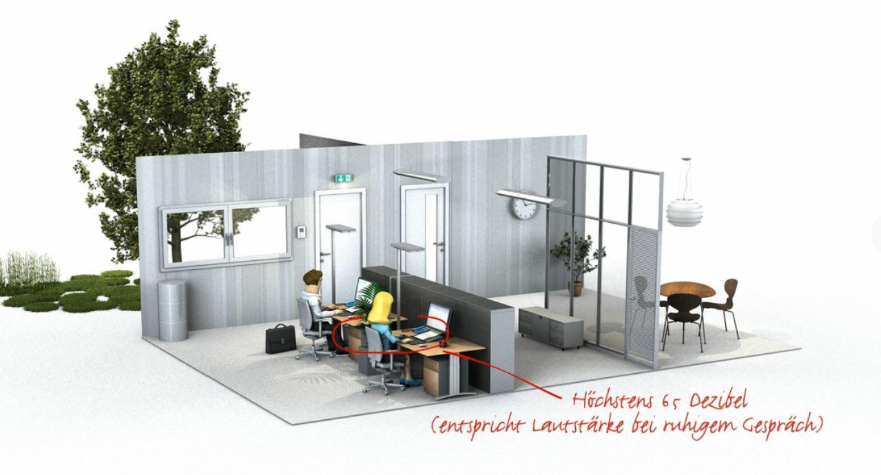 arbeitssicherheit gesundheitsschutz und ergonomie im b ro. Black Bedroom Furniture Sets. Home Design Ideas