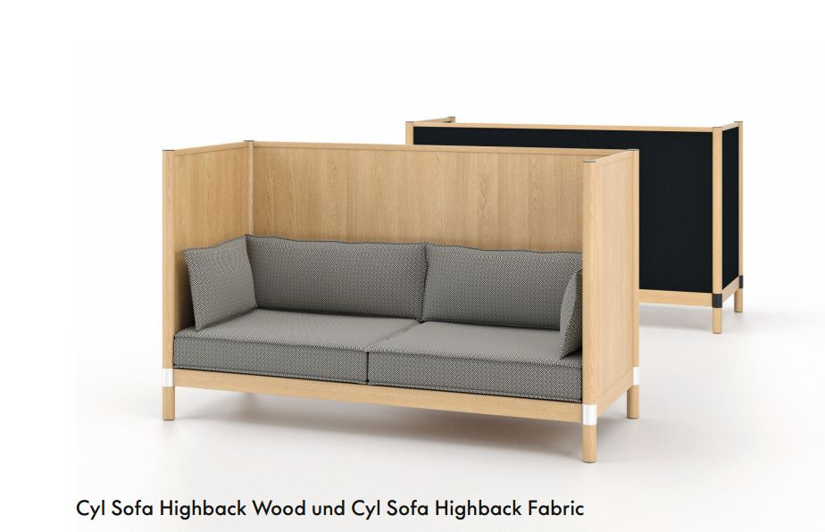 Cyl Sofa Highback Bruno Wickart Blog