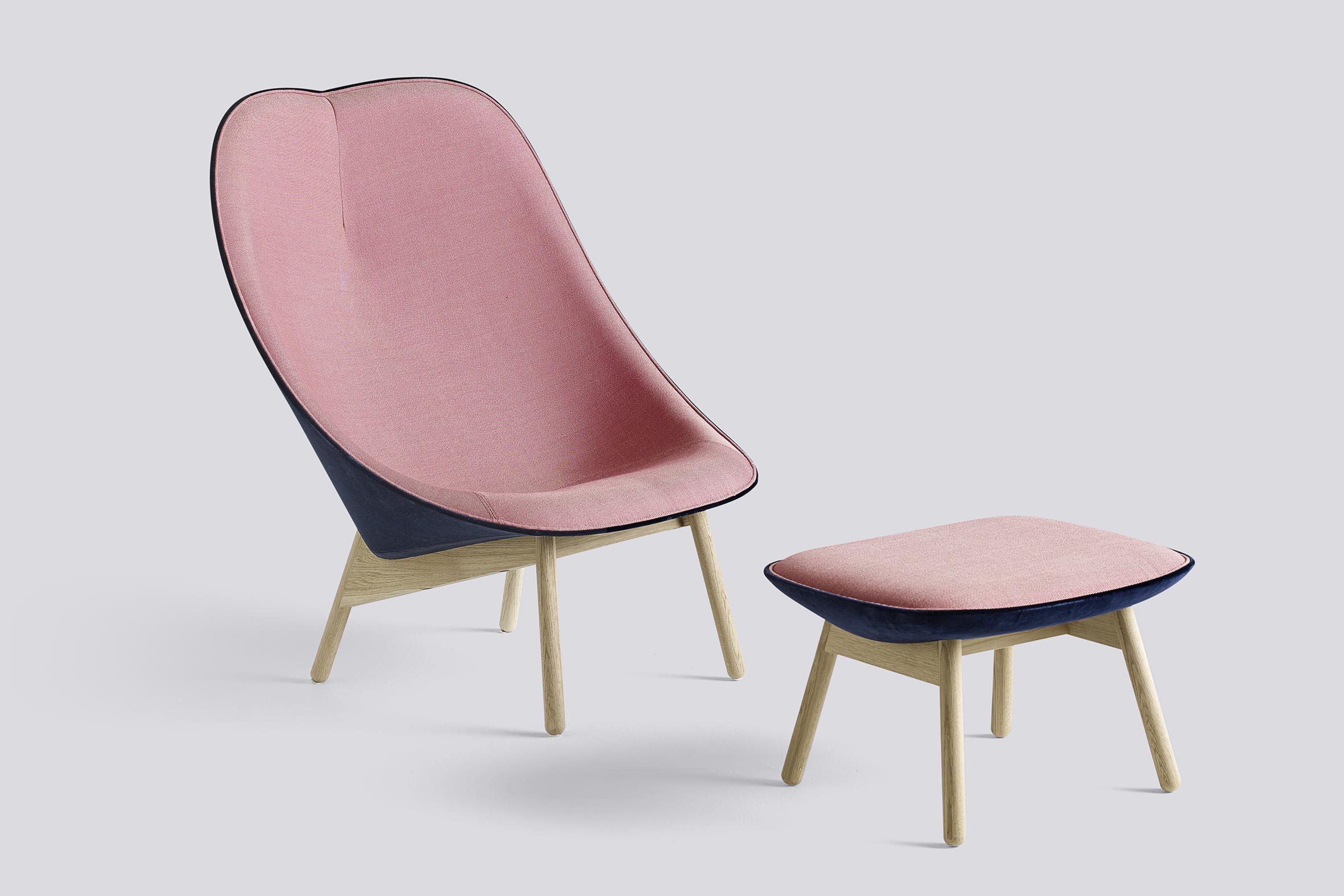 hay uchiwa sessel bruno wickart blog. Black Bedroom Furniture Sets. Home Design Ideas