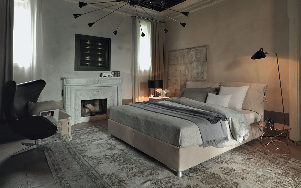 nathalie bett von flou das urmodell aller textilen betten bruno wickart blog. Black Bedroom Furniture Sets. Home Design Ideas