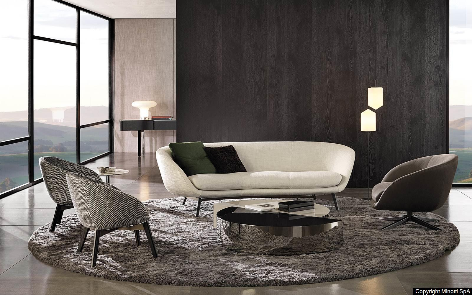 minotti russell sofa und sessel linie von dordoni bruno wickart blog. Black Bedroom Furniture Sets. Home Design Ideas