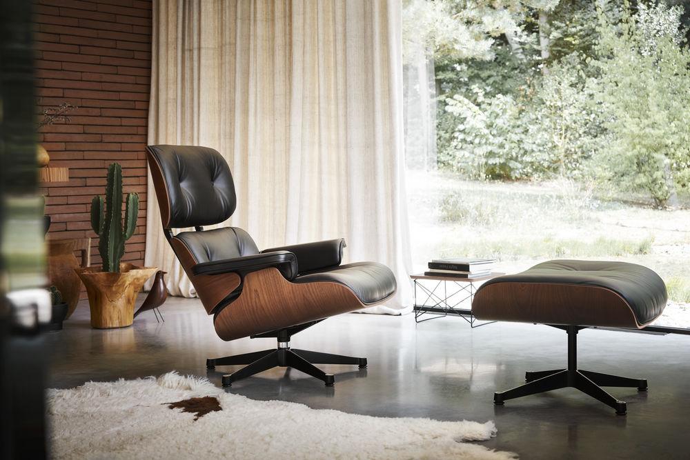 Neu Von Vitra: Eames Lounge Chair In Afrikanischem Mahagoni