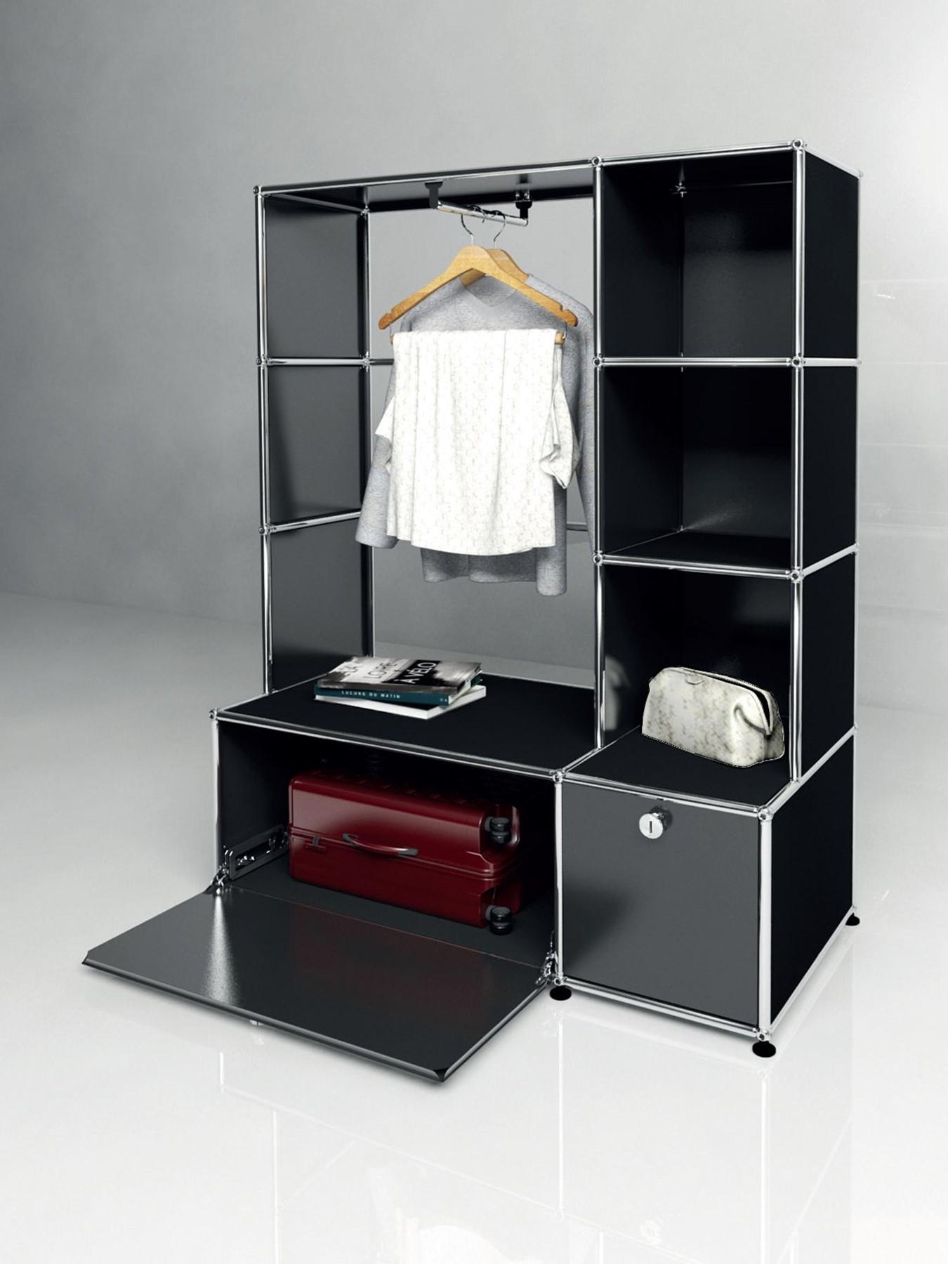 usm haller ist das neue schwarz bruno wickart blog. Black Bedroom Furniture Sets. Home Design Ideas
