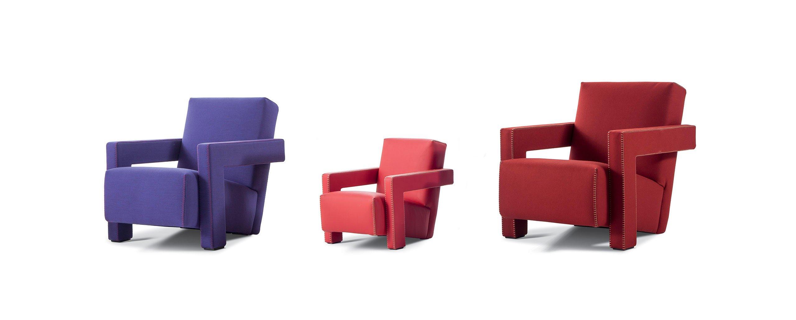 Inspiration Bauhaus Gerrit Thomas Rietveld Utrecht Armchair