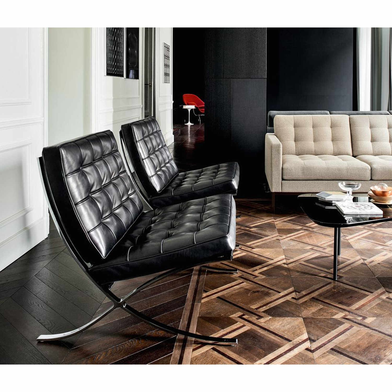 knoll international designklassiker online kaufen bei wwwbruno wickartch der entwurf des sessels barcelona chair