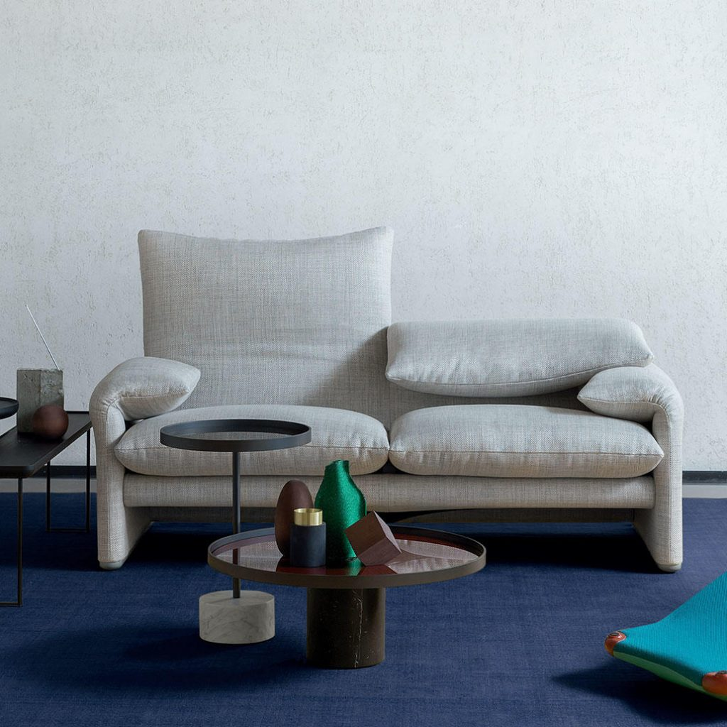 Maralunga sofa neu beziehen