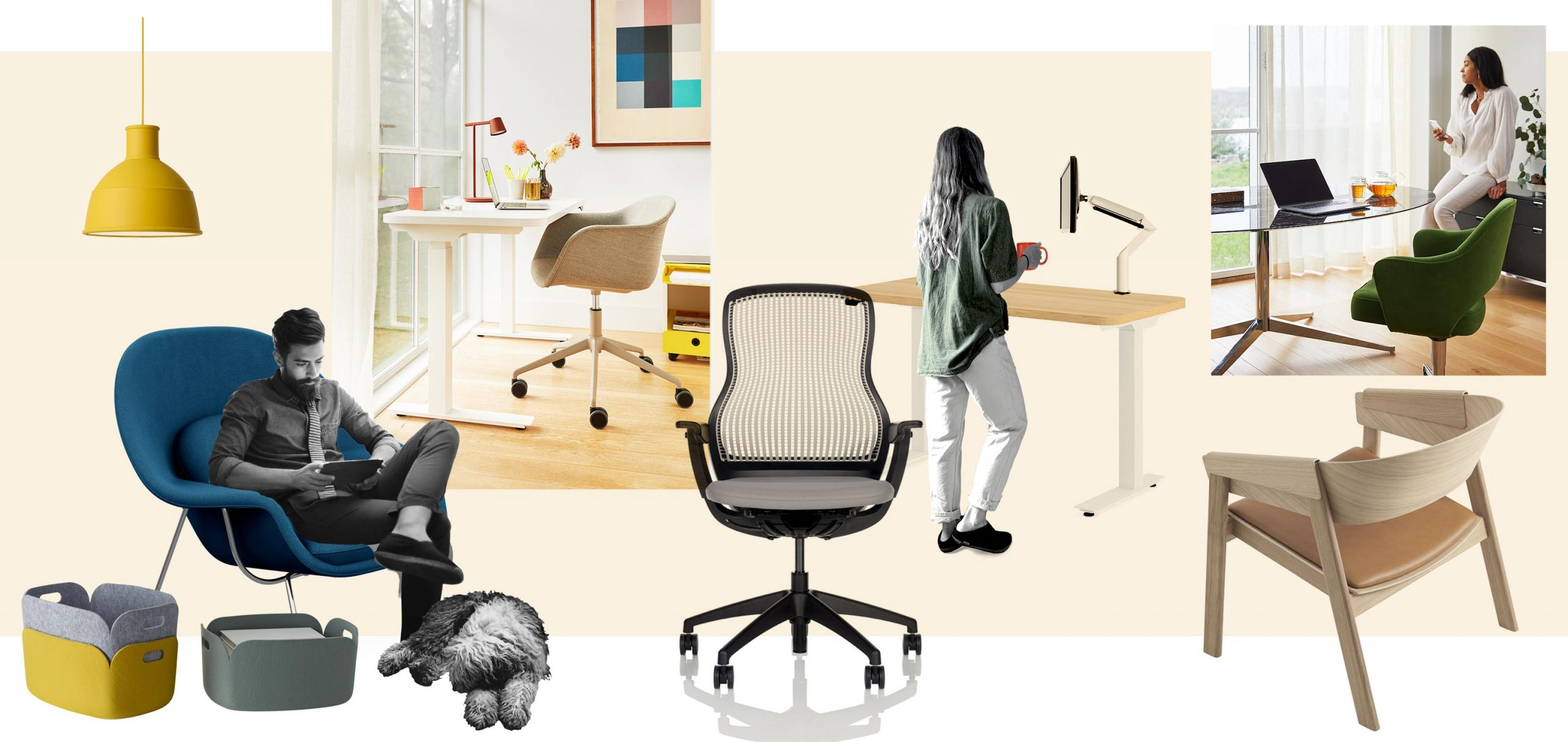 KNOLL INTERNATIONAL: WORK FROM HOME