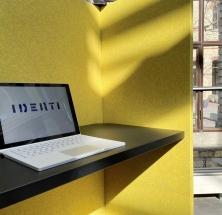 acustica Workplace und Raumgliederung von IDENTI