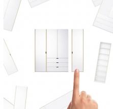 Schranksystem Modular Plus: von Müller Möbelwerkstätten GmbH