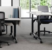 WILKHAHN: AT Mesh Bürostuhl mit Netzrücken – free-2-move