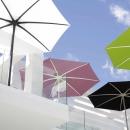 PALMA Sonnenschirm Hersteller: Royal Botania Designer: Kris Van Puyvelde