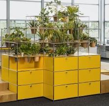 Surrounded by nature – die neuen Pflanzenwelten für USM Haller
