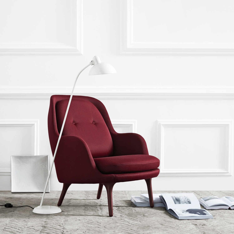 fritz hansen fri jh4 sessel exklusive designklassiker. Black Bedroom Furniture Sets. Home Design Ideas