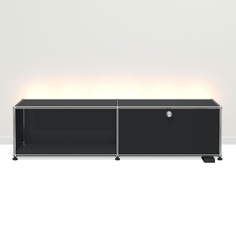 usm tv hi fi m bel haller e bruno. Black Bedroom Furniture Sets. Home Design Ideas