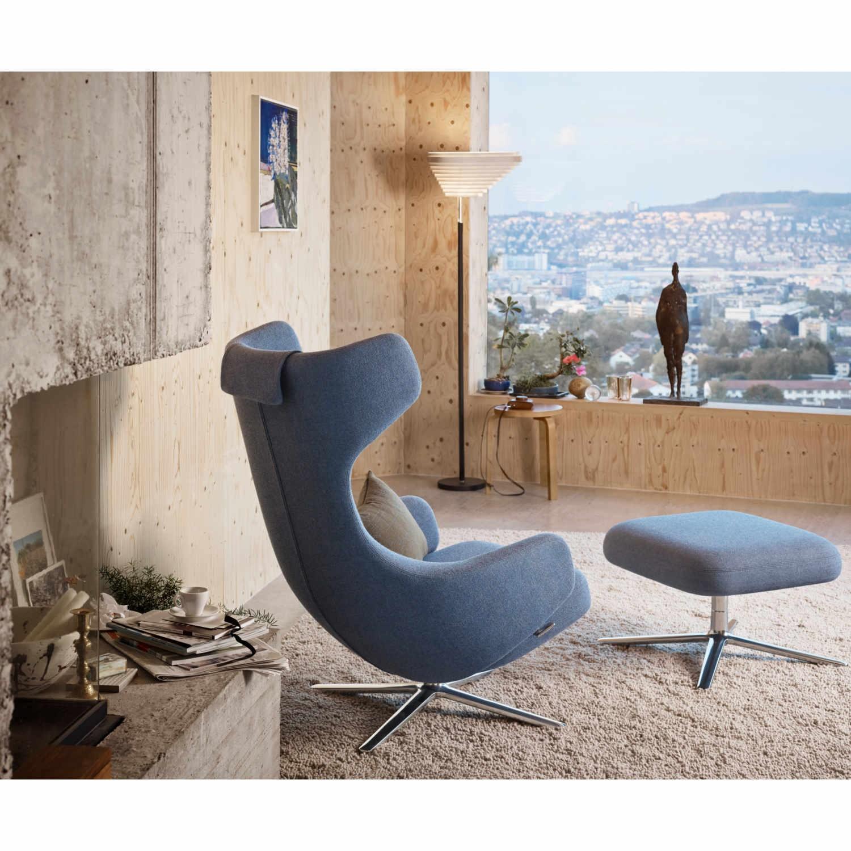 vitra grand repos ottoman stoffsessel bruno. Black Bedroom Furniture Sets. Home Design Ideas
