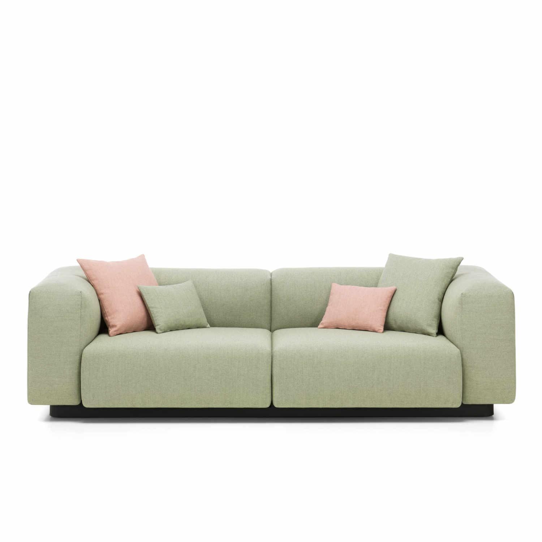 Vitra Soft Modular 2er Sofa - bruno-wickart.ch
