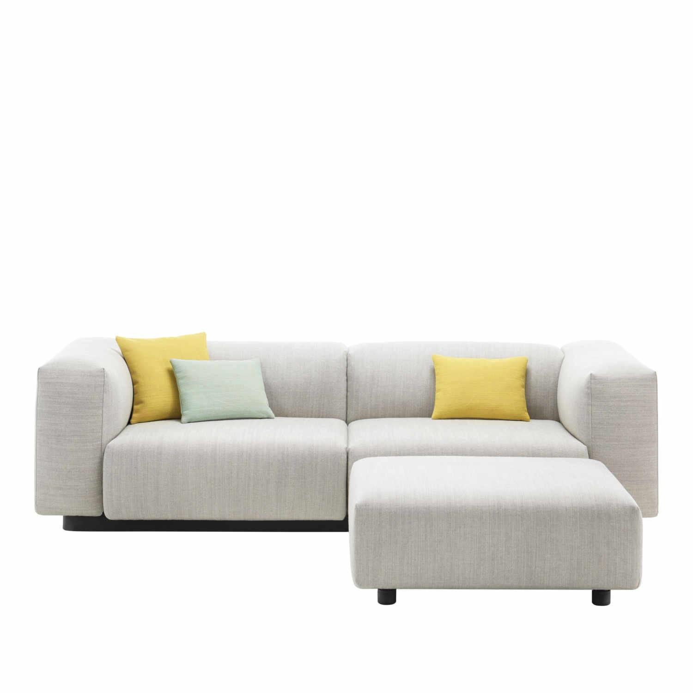 vitra soft modular 2er sofa bruno. Black Bedroom Furniture Sets. Home Design Ideas