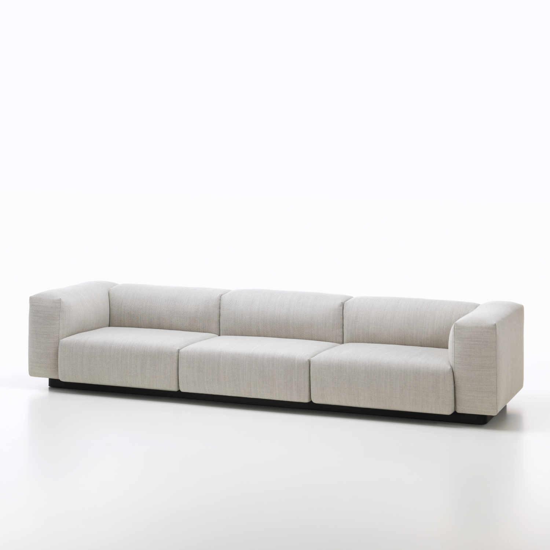 Vitra Soft Modular 3er Sofa - bruno-wickart.ch