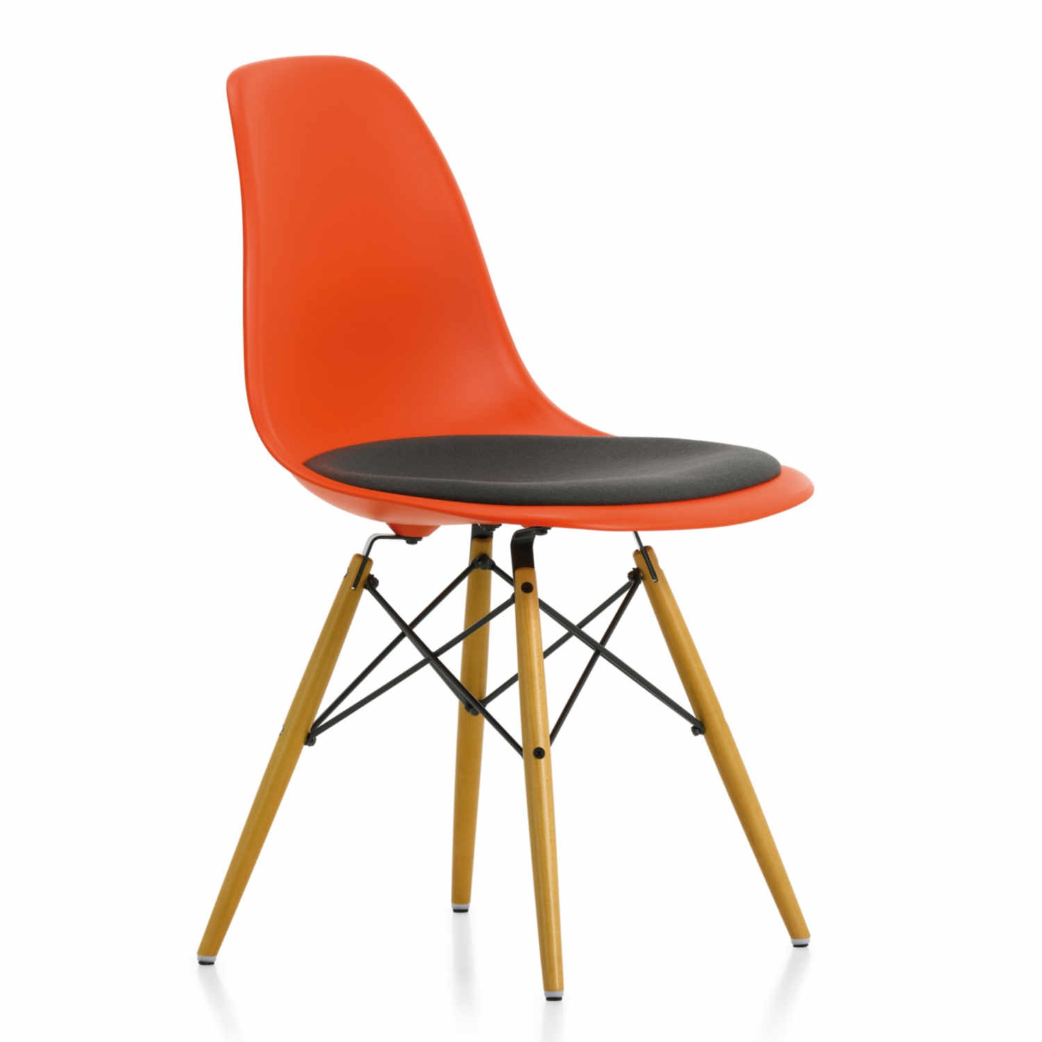 vitra eames plastic side chair dsw stuhl ausstellungsst ck. Black Bedroom Furniture Sets. Home Design Ideas
