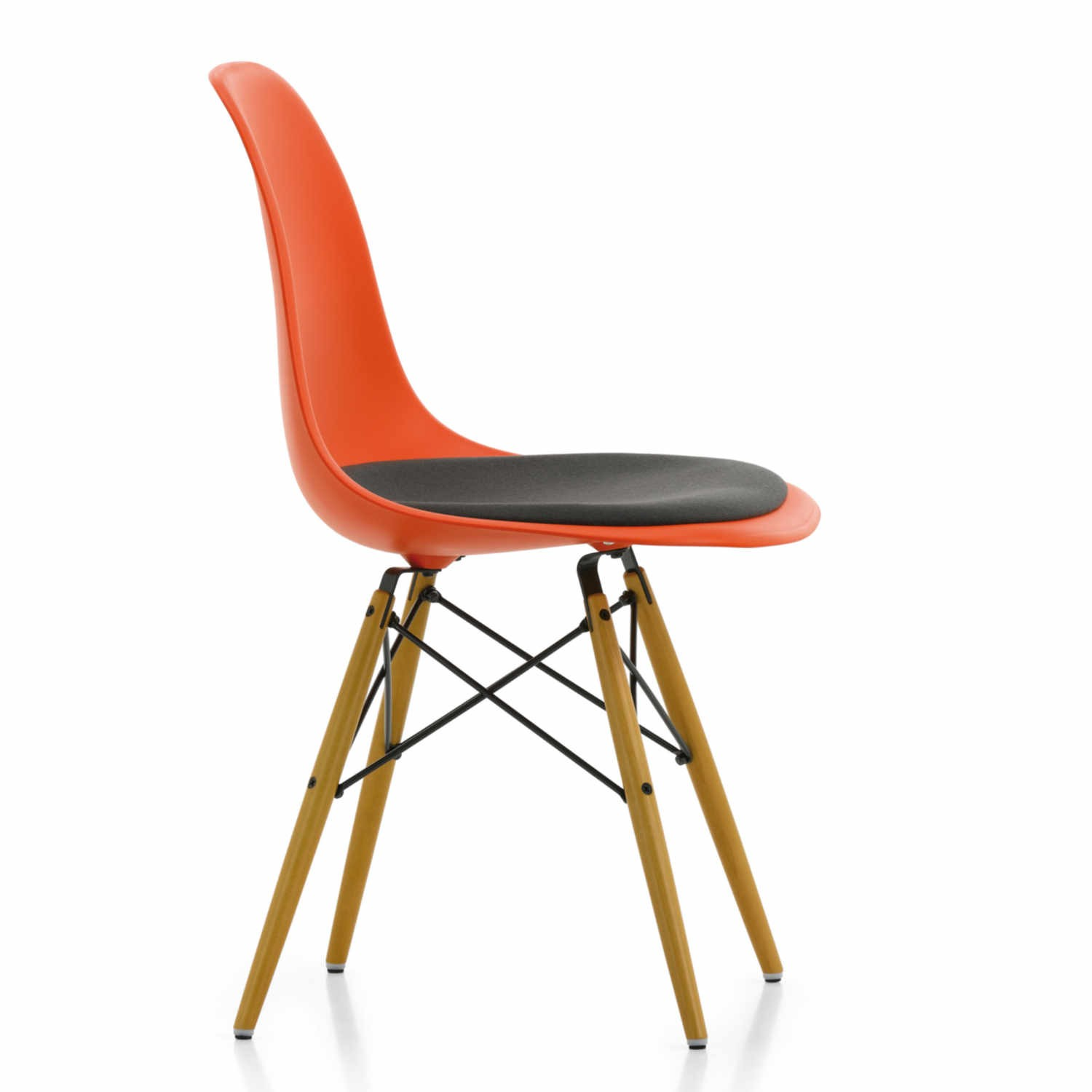 vitra eames plastic side chair dsw stuhl ausstellungsst ck bruno. Black Bedroom Furniture Sets. Home Design Ideas