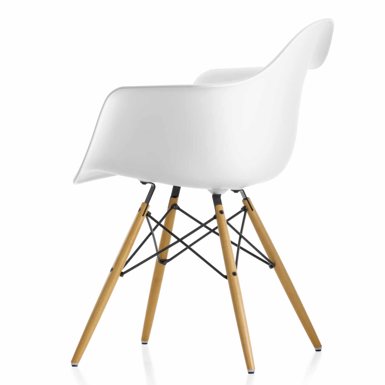 vitra eames plastic armchair daw stuhl ausstellungsst ck bruno. Black Bedroom Furniture Sets. Home Design Ideas