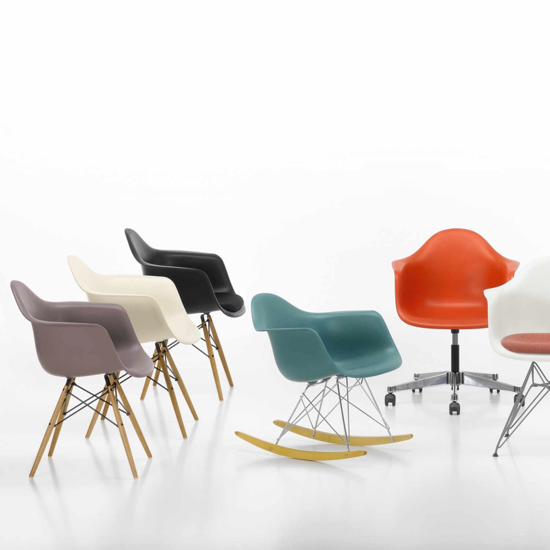 ... Vitra Eames Plastic Armchair DAW Stuhl 20_44032600 ...