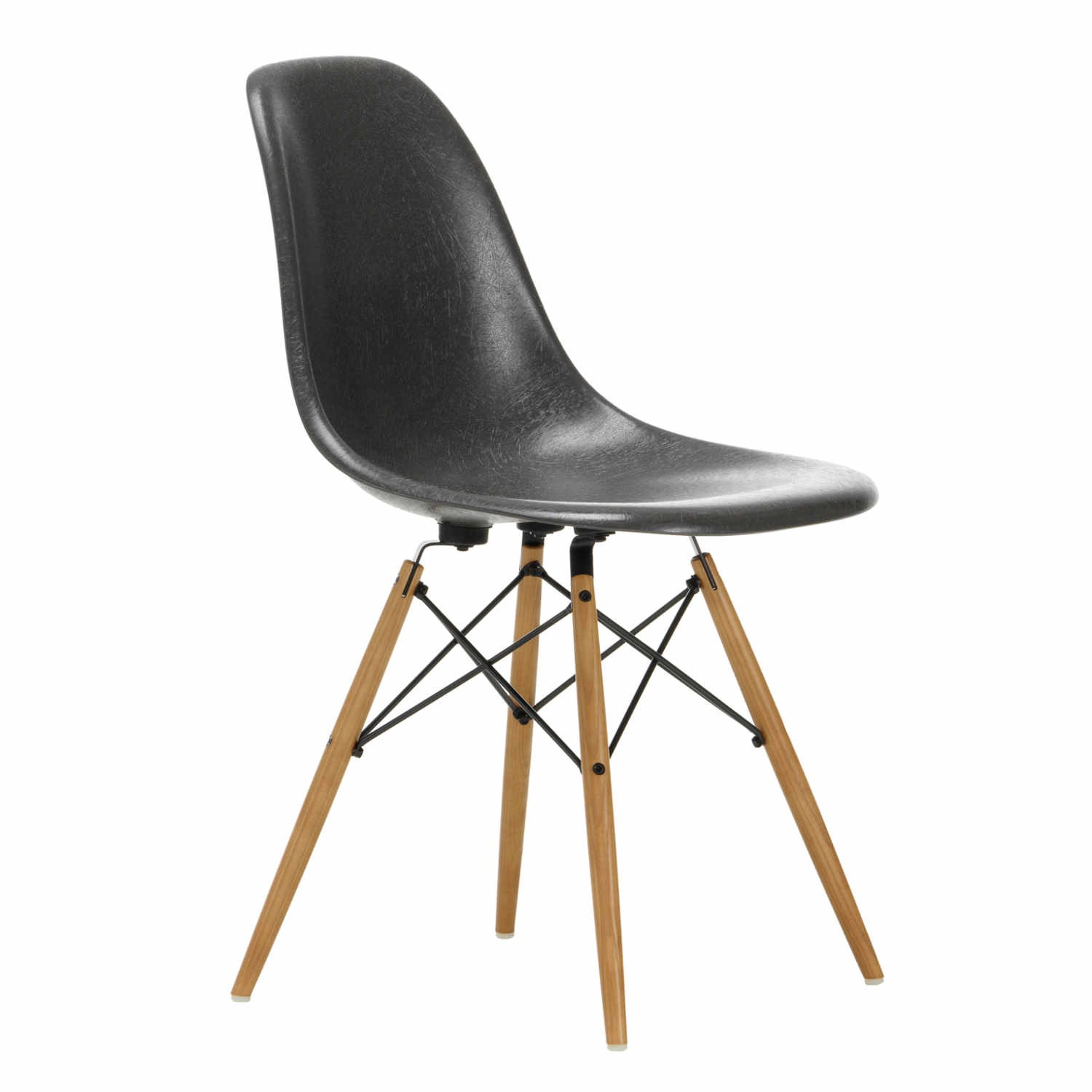Vitra Eames Fiberglass Side Chair DSW Stuhl bruno wickart