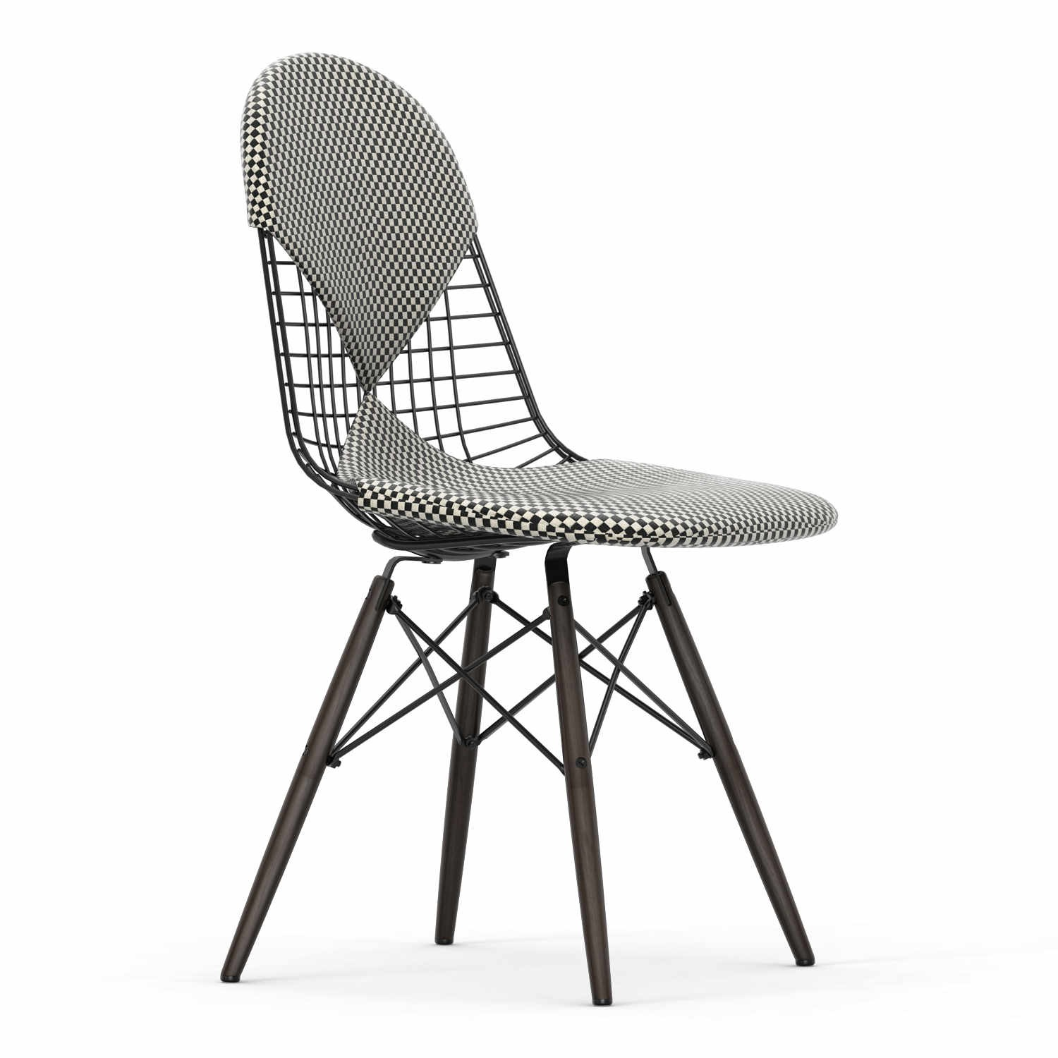 Wire Chair Dkw 2 Checker Edition Stuhl Vitra