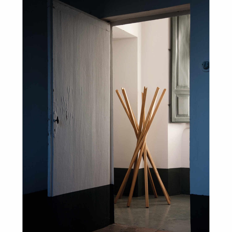 Zanotta sciangai garderobe bruno for Garderobe italienisches design