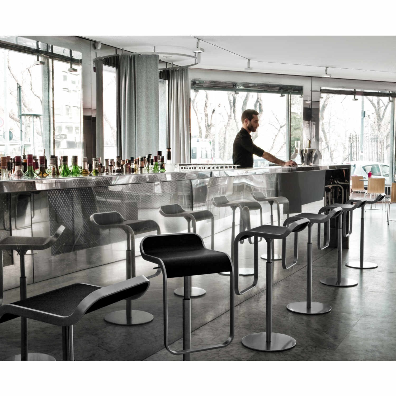 Einfache Dekoration Und Mobel Lem Barhocker Von La Palma Ein Designklassiker 2 #24: ... LaPalma LEM Hocker Hoch 81_S80 ...