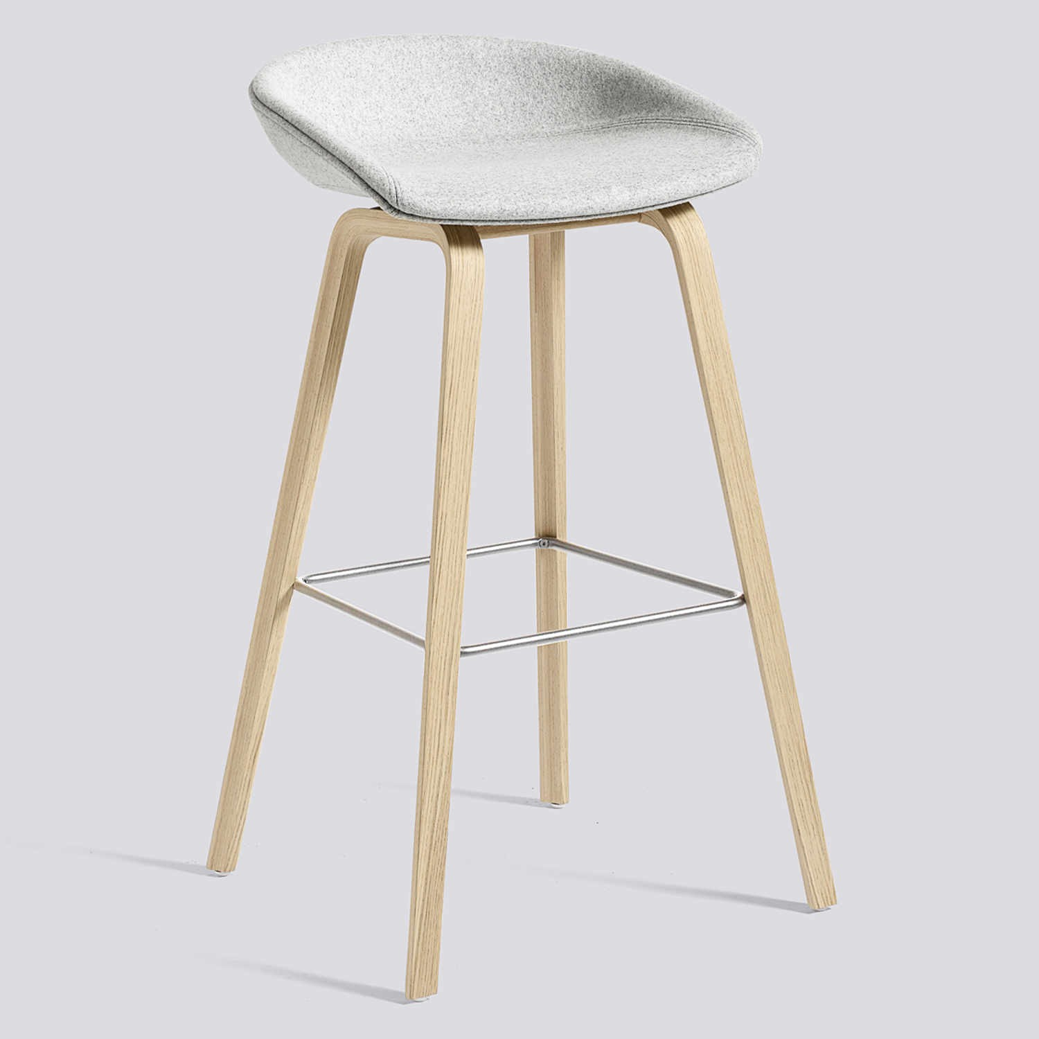 Hay about a stool aas33 barhocker bruno for Barhocker untergestell