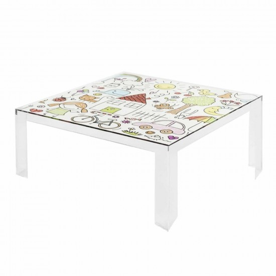 Kartell Invisible Table Kids Kindertisch 112_05072