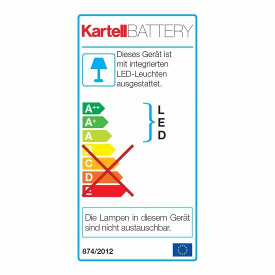 Kartell Battery LED Tischleuchte Ausstellungsstück 112_09140_B4_O