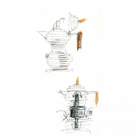 Alessi Pulcina Espressomaschine 114_MDL02-0BCH