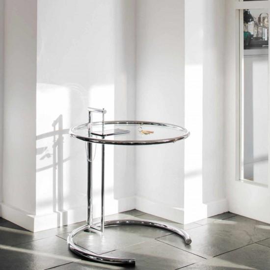 ClassiCon Adjustable Table E 1027 Beistelltisch 121_E1027