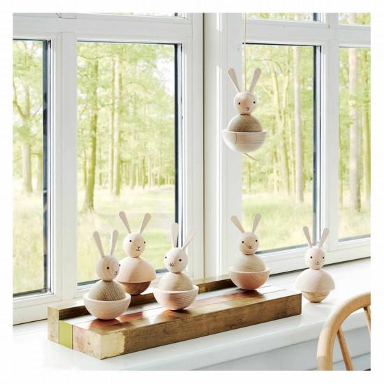OYOY Living Design Hase Holzfigur Natur 122_1100148