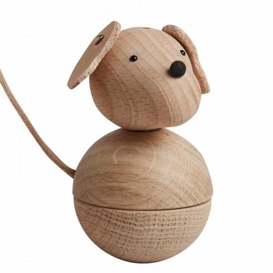 OYOY Living Design Leika Hund Holzfigur Natur 122_1100159