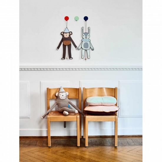 OYOY Living Design Mr. Nelsson Kissen Affe 122_1100806