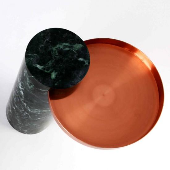 La Chance Salute Marmor-Beistelltisch 135_LC190100