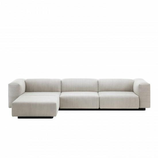 Vitra Soft Modular 3er Sofa Chaise Longue 20_21040003
