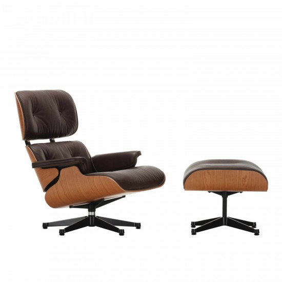 Vitra Lounge Chair and Ottoman American Cherry Version 20_41213300
