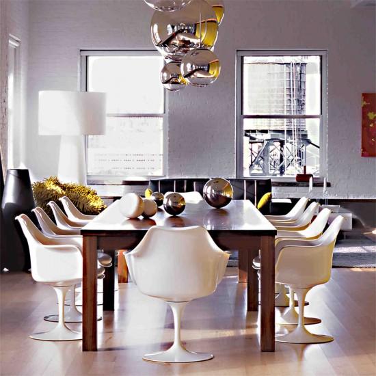 Knoll International Tulip Saarinen Armlehnstuhl 23_150AS