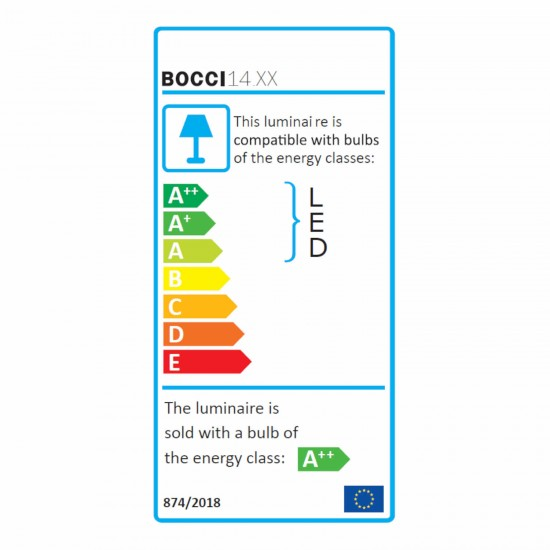 Bocci 14.1 Shallow LED Hängeleuchte 373_14-1