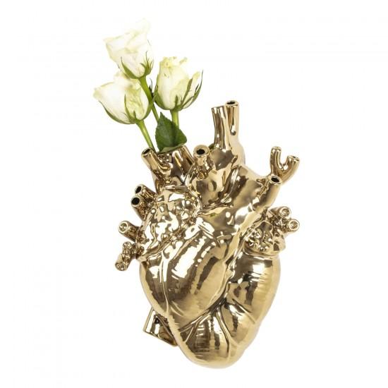 SELETTI Love in Bloom Gold Edition Vase 379_09921