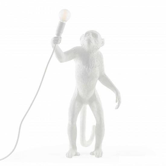 SELETTI Monkey Lamp White LED Leuchte 379_148XX-W